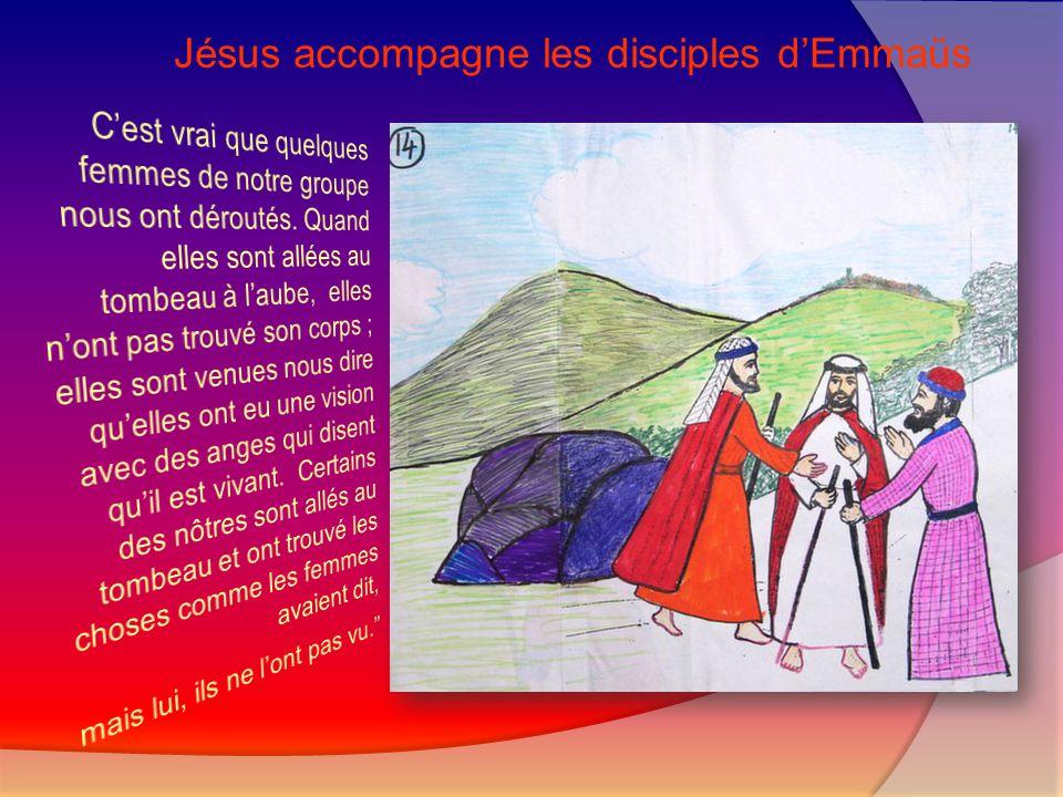 Jésus révèle aux disciples ce qui le concerne dans les Écritures