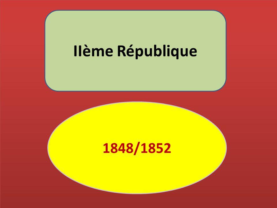 IIème République 1848/1852