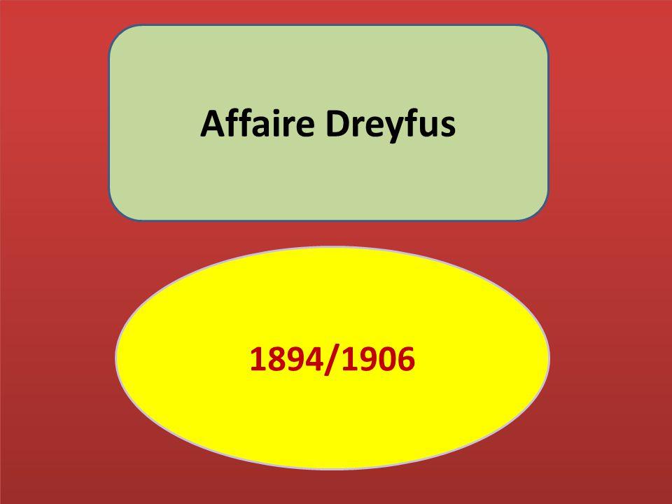 Affaire Dreyfus 1894/1906