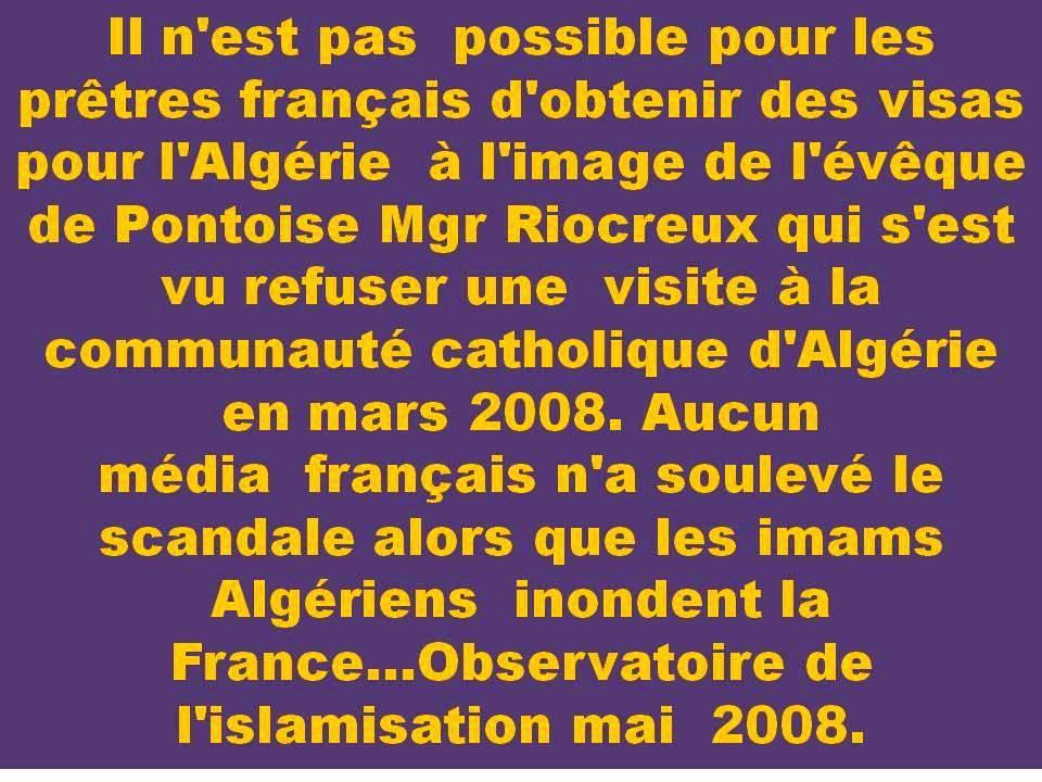 Exigeons la réciprocité aux pays musulmans où les autres cultes sont interdits ! Cette décision doit être prise par l'Union Européenne et Par chaque p