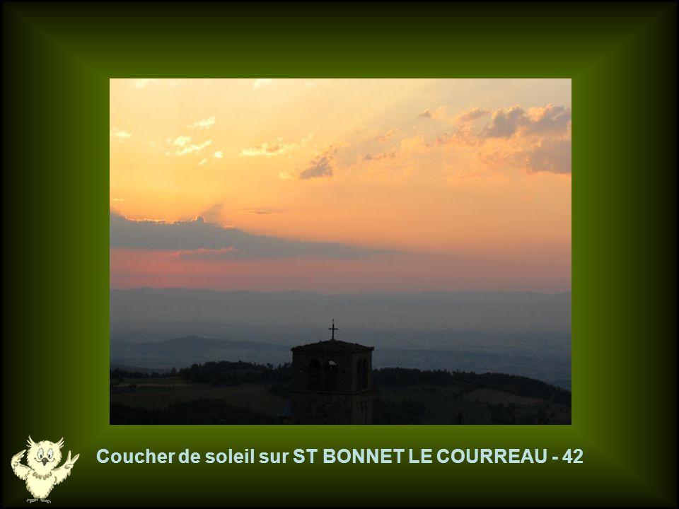 Route du Col du BEAL - 42
