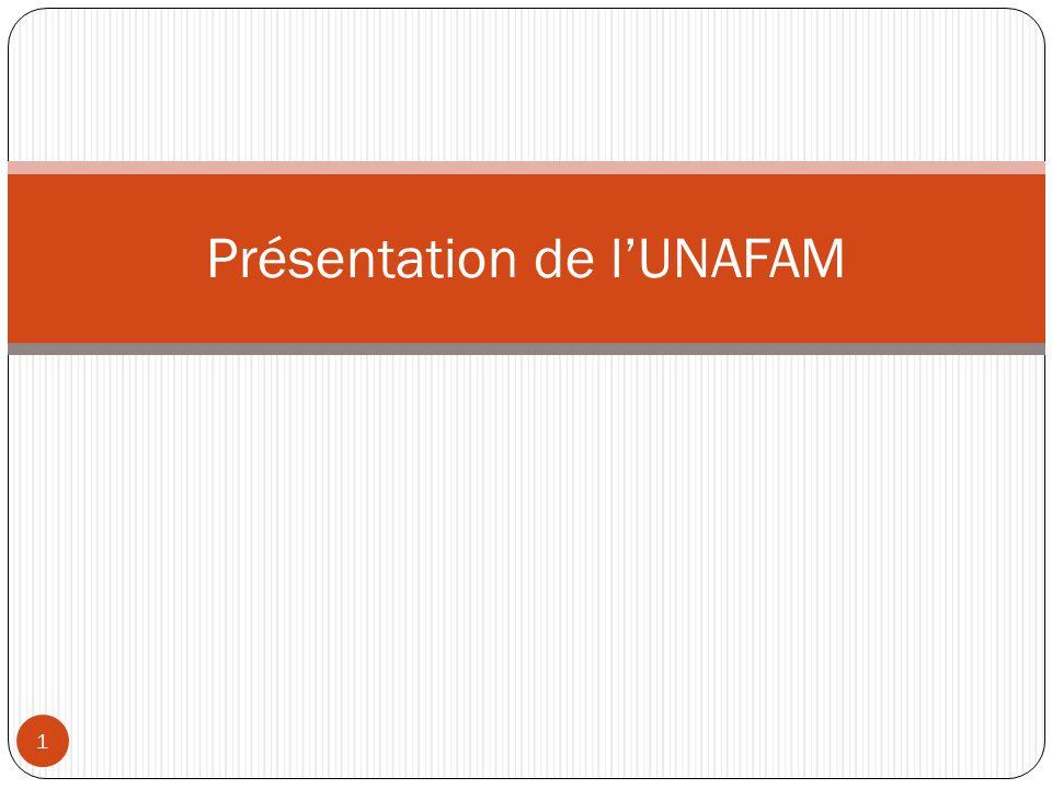 Présentation de l'UNAFAM 1