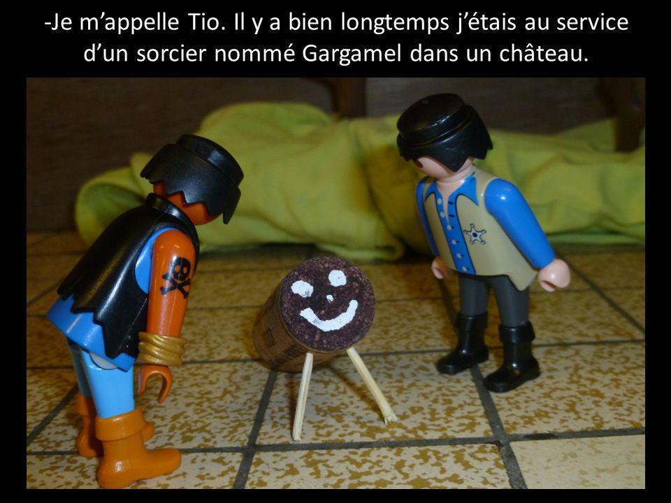 -Je m'appelle Tio.