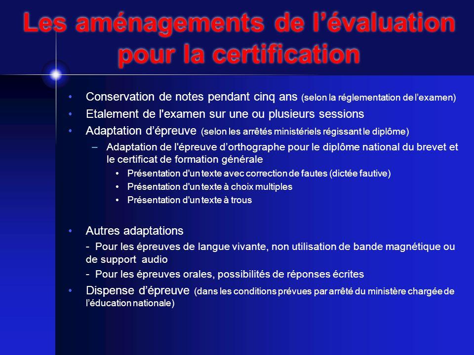 La certification ne peut être complète…..