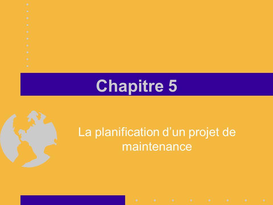 François Desjardins Planification d'un projet de maintenance Représentation graphique Ordonnancement Suivi Représentation graphique Graphique de Gantt C'est un outil visuel qui permet de présenter une production unitaire ou un projet et d'en assurer le suivi Construction du graphique L 'axe des « X » est divisé en unité de temps.