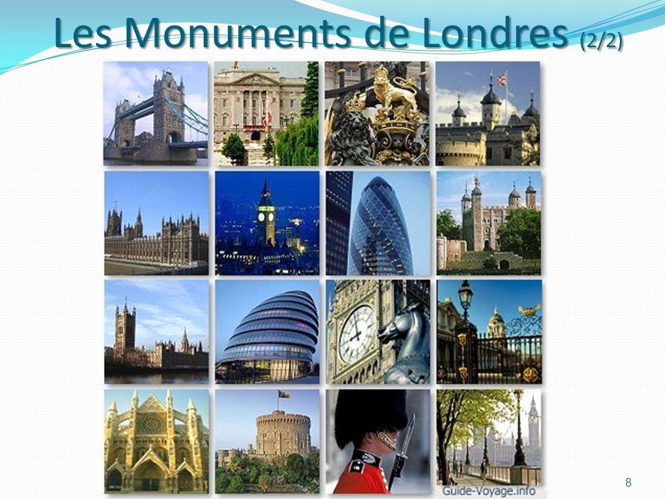 Les Monuments de Londres (2/2) Les Monuments de Londres (2/2) 8