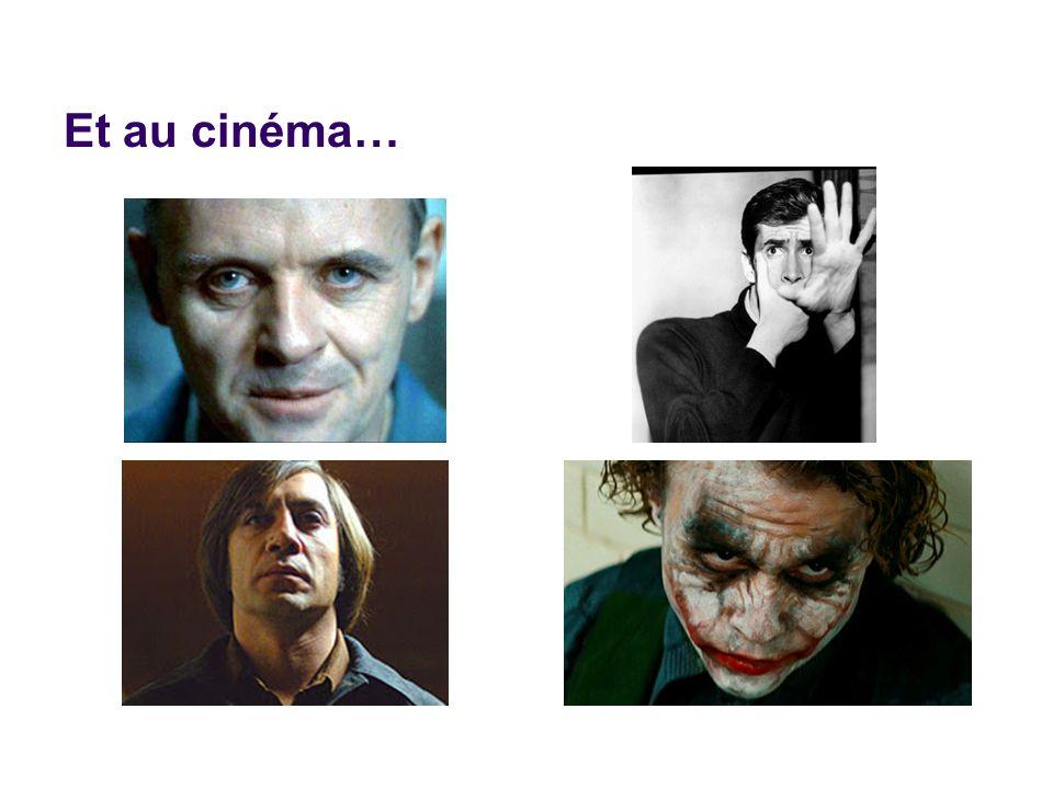 Et au cinéma…