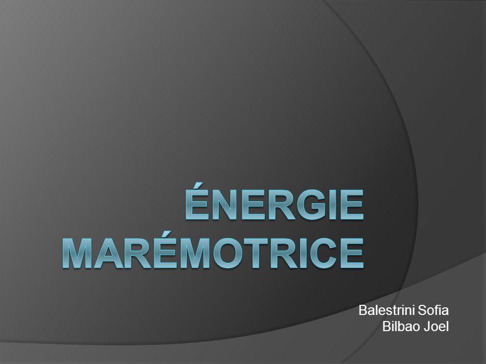 L'énergie marémotrice n est pas une technique récente.