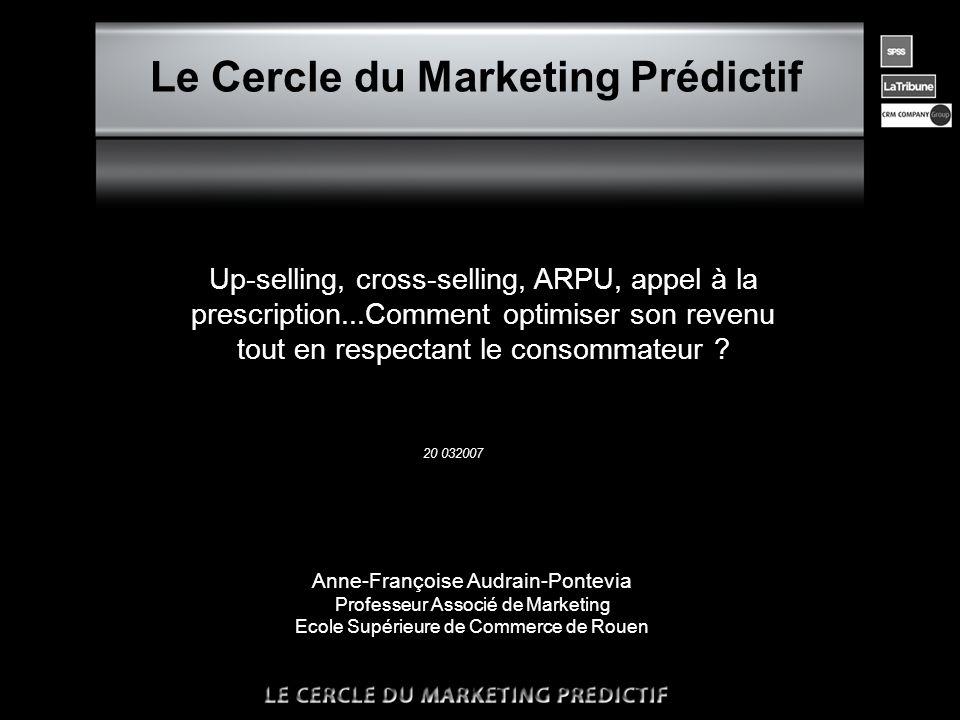 •Les conditions de réussite des techniques d'up-selling sont en bien des points analogues à celles de cross-selling.
