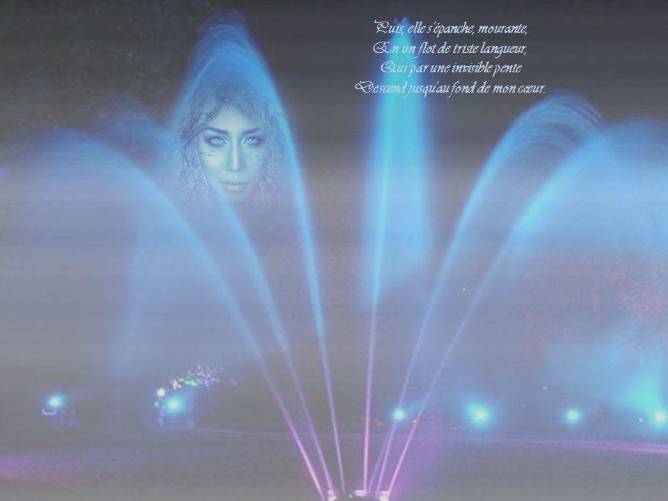Ainsi ton âme qu'incendie L'éclair brûlant des voluptés S'élance, rapide et hardie, Vers les vastes cieux enchantés.