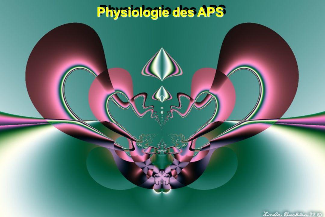 Physiologie des APS - Cœur / Fréquence cardiaque Contrôle par la Fc ou par la VAM .