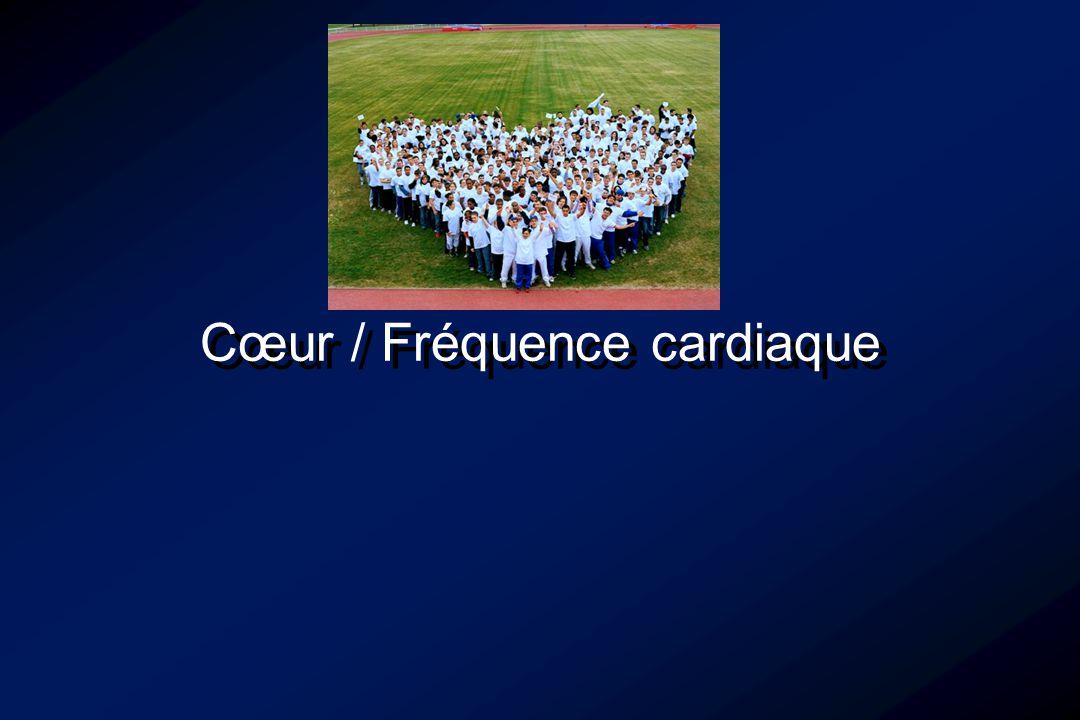 Physiologie des APS - Cœur / Fréquence cardiaque FC max théorique… Chatard (2001) :- Pour un âge donné la variabilité de la relation entre âge et FCmax est supérieure à 10 bpm.