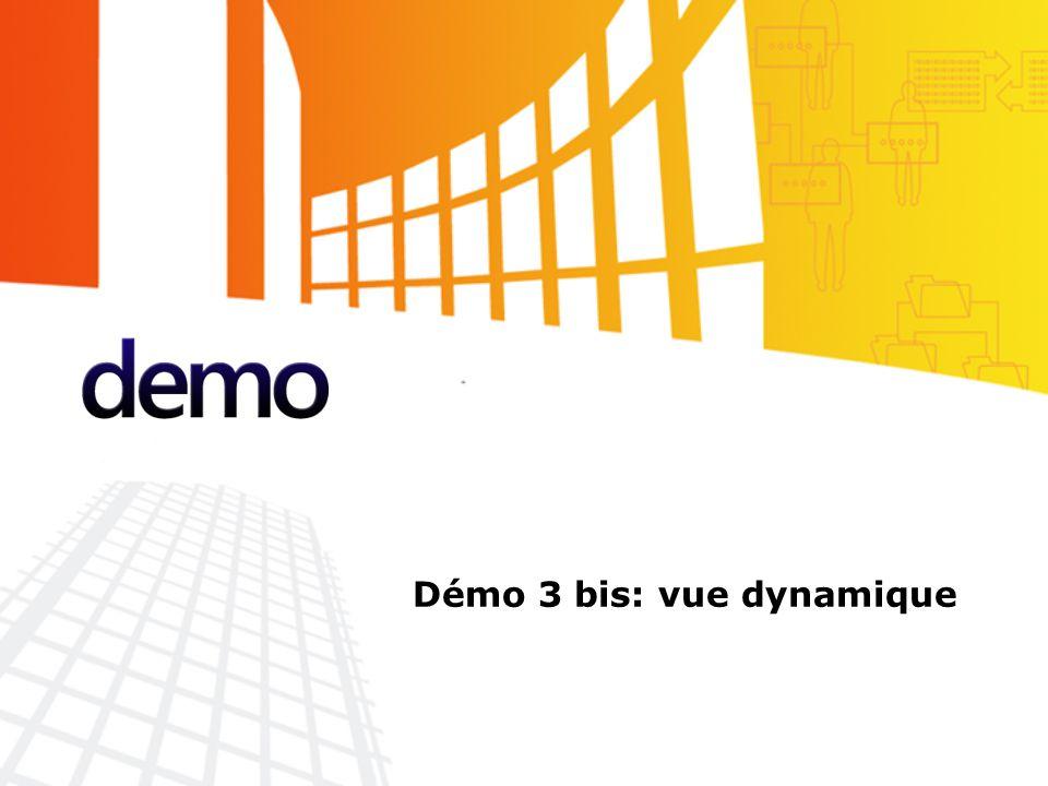Démo Démo 3 bis: vue dynamique