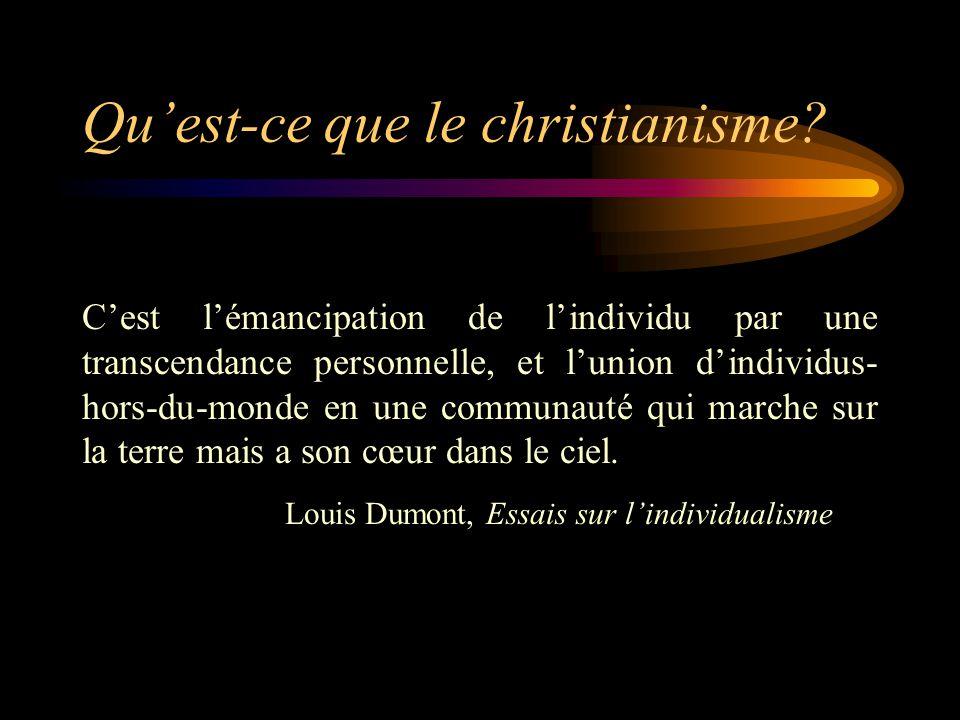 Qu'est-ce que le christianisme.