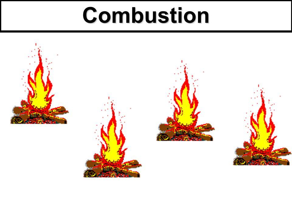 I)Qu'est ce qu'une combustion .
