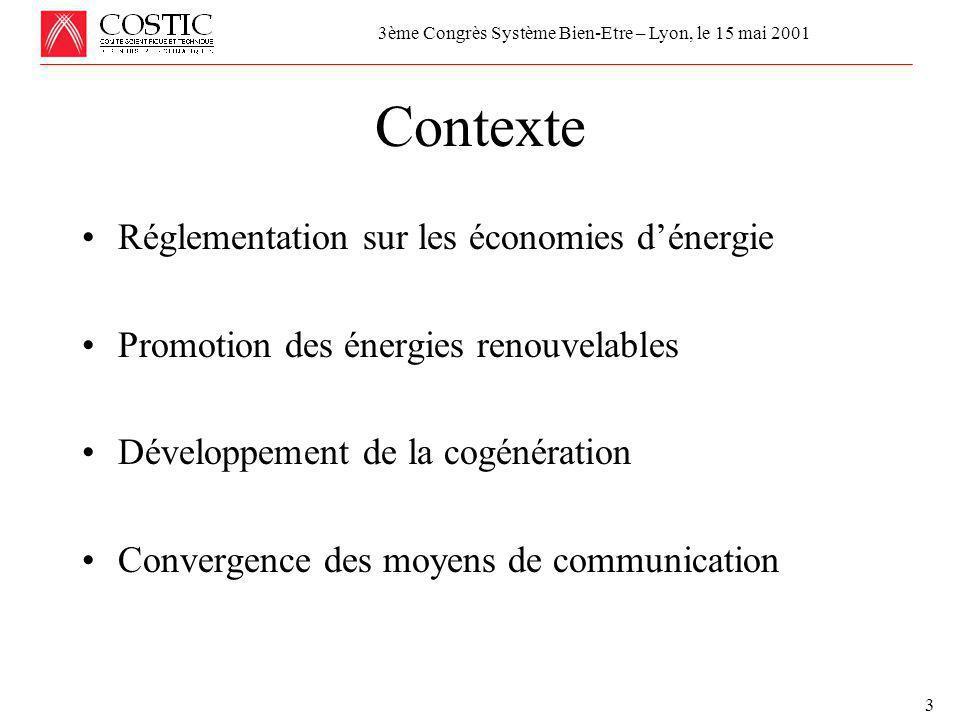Réunion de la Commission Economique et Technique de l'UCF le 24 avril 2001 MAINTENANCE, MISE AU POINT et COMMISSIONNEMENT 4 Impact direct de la libéralisation 3ème Congrès Système Bien-Etre – Lyon, le 15 mai 2001 Source : COSTIC Source : Electricity Association