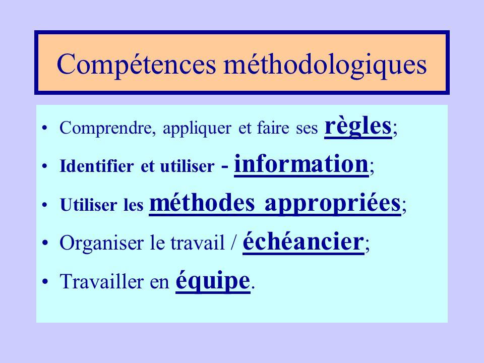 Capacités intellectuelles •Développer Le sens critique ; •Capacité d' analyse et synthèse ; •Entreprendre et de mener des projets à terme ; •Créativit