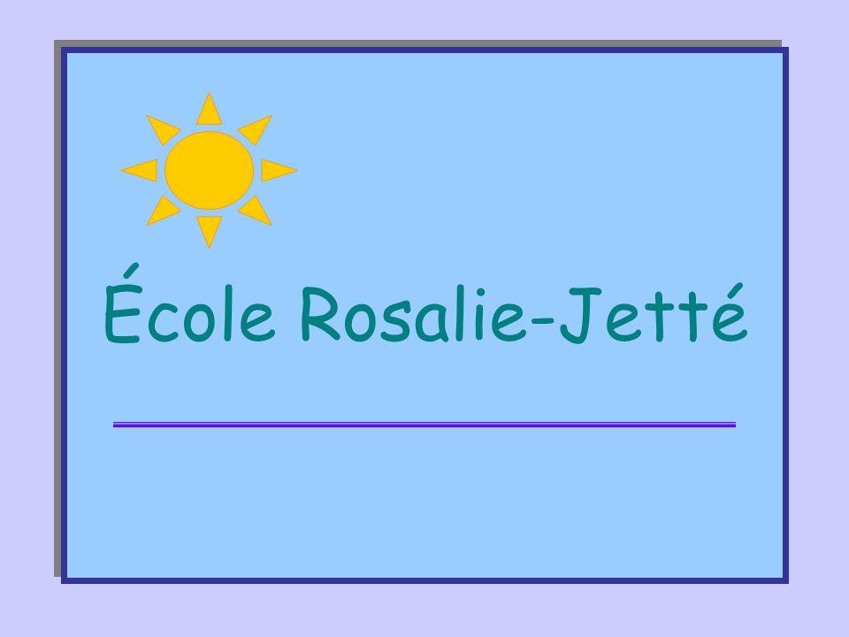 Intégration de l'école orientante •École Rosalie-Jetté •Projet éducatif et école orientante •Évolution du projet «école orientante» »1998-1999 »1999-2