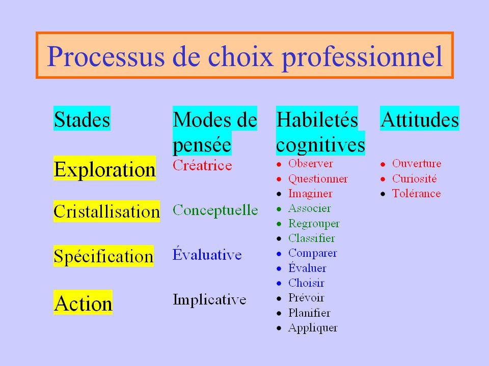 L'identité •Un grand nombre de variables; •Beaucoup d'ambiguïté; •Processus complexe; •Mouvement en spiral (ADVP). L'identité