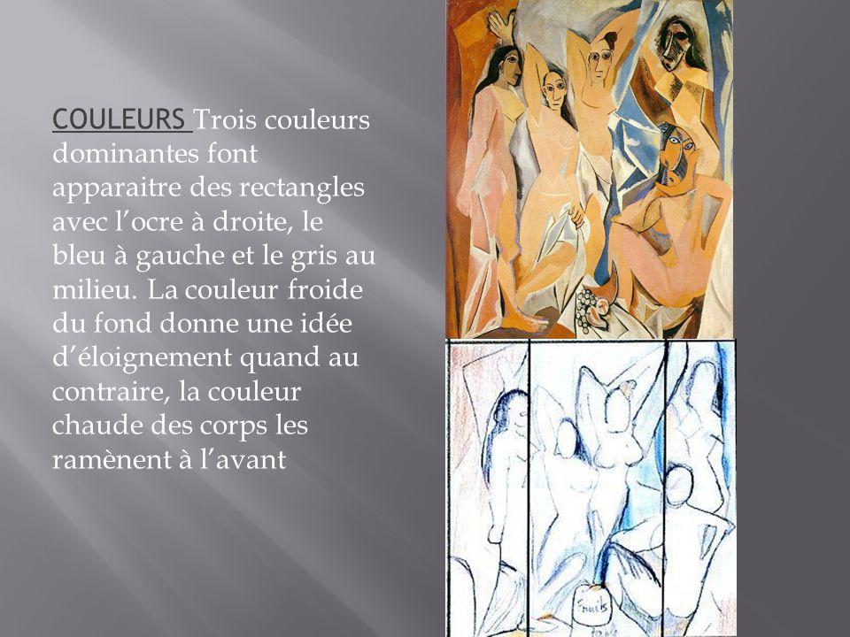 On date traditionnellement les débuts du cubisme de la réalisation par Picasso des Demoiselles d Avignon.