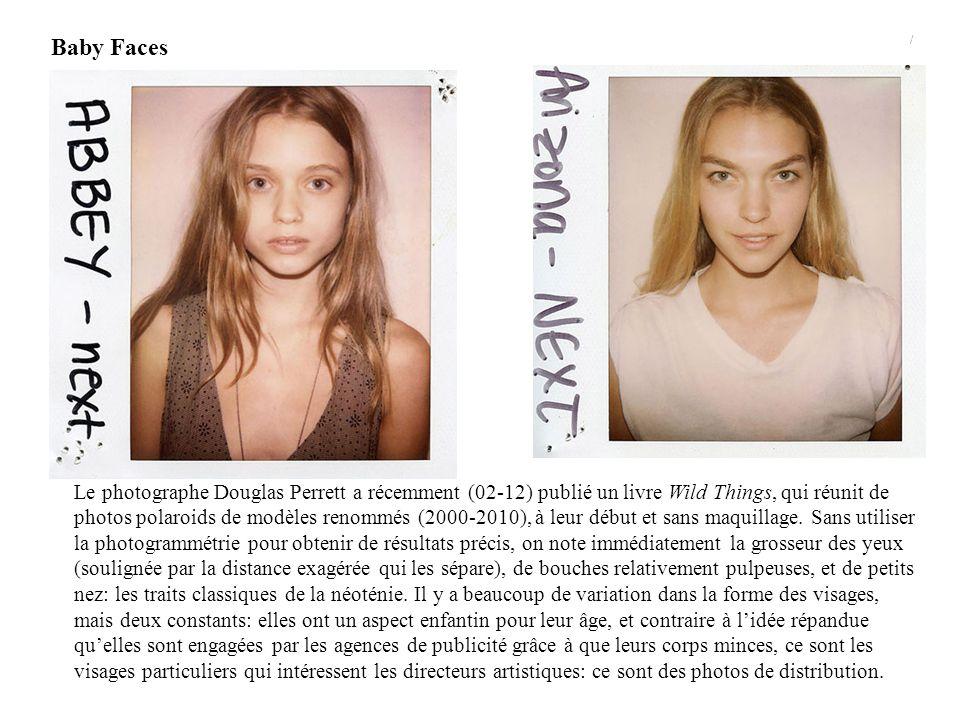 Toutes les images sont tirées du site: http://trendland.net/wild-things-book-makeupless- models-from-casting-pola, consulté le 18-02-12)http://trendland.net/wild-things-book-makeupless- models-from-casting-pola