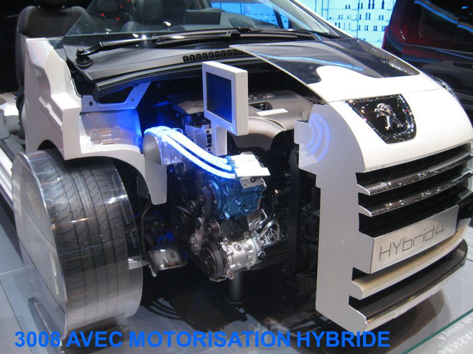 3008 AVEC MOTORISATION HYBRIDE
