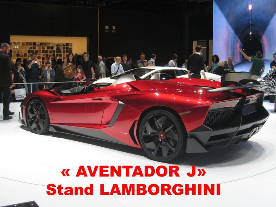 « AVENTADOR J» Stand LAMBORGHINI