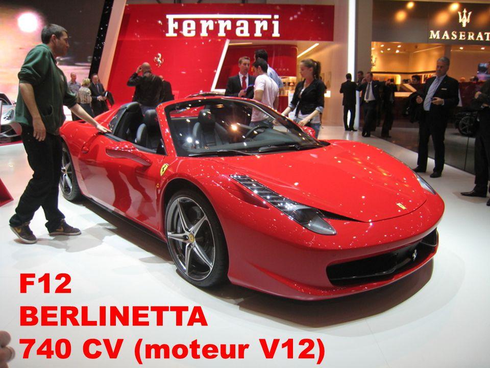 F12 BERLINETTA 740 CV (moteur V12)