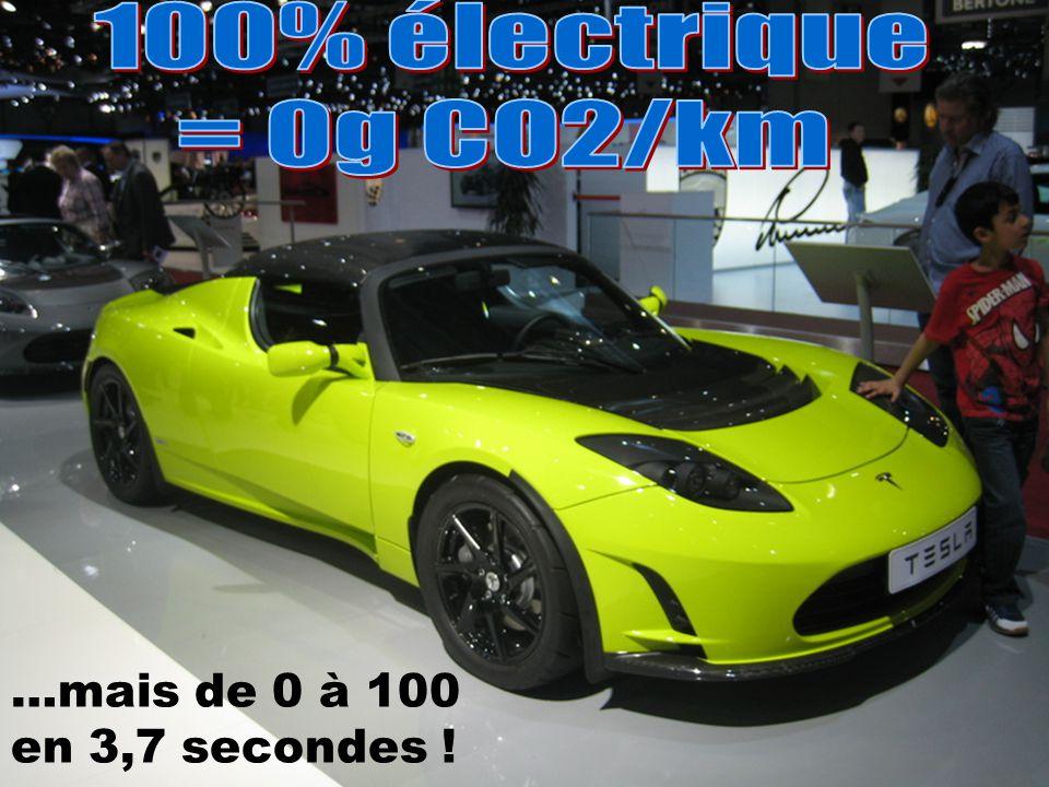 …mais de 0 à 100 en 3,7 secondes !
