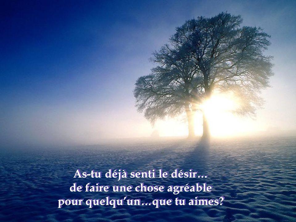 As-tu déjà senti une immense tristesse dans l'âme…et tout à coup, comme si un baume d'amour se répandait en toi,…apparaît une paix inexplicable….qui envahit tout ton être?