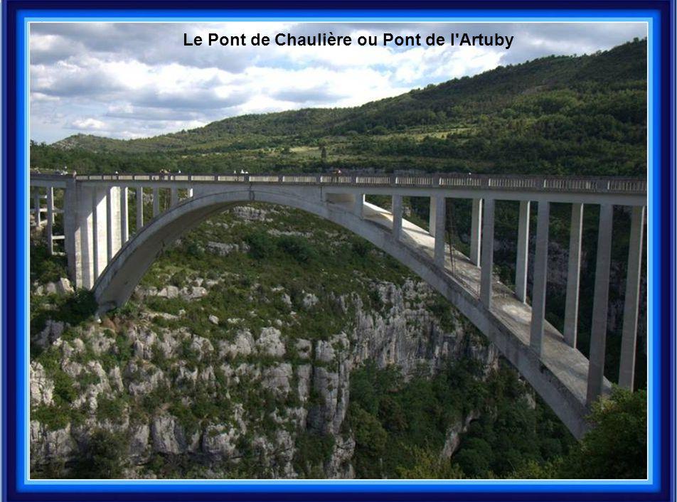 Le Pont de Chaulière ou Pont de l'Artuby