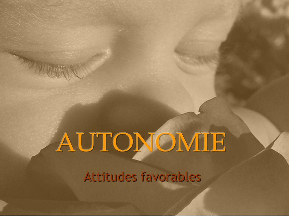 Attitudes favorables