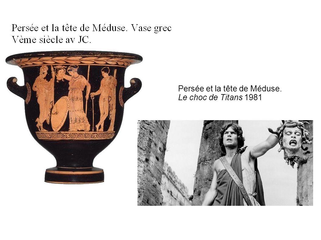 Persée et la tête de Méduse. Le choc de Titans 1981