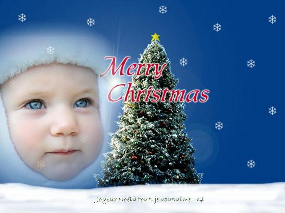Le Papa Noël arrive du ciel.. C'est beau !!!