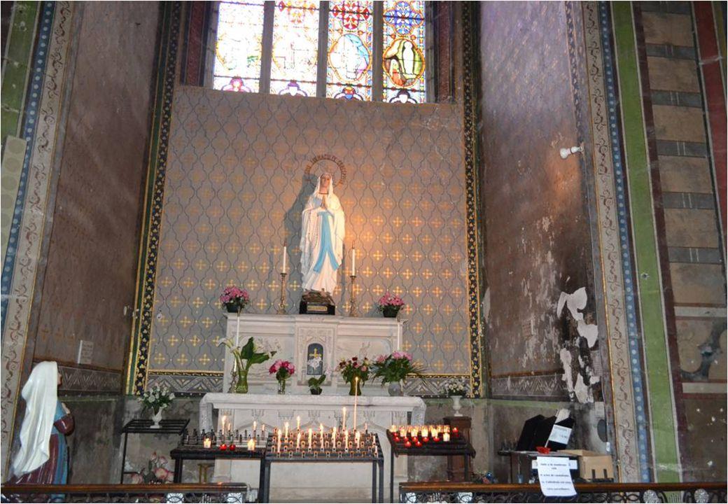 Chapelle de Saint –Jean -BatisteChapelle de la Vierge
