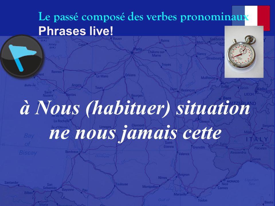 Le passé composé des verbes pronominaux Phrases live! (dépêcher) se enfants Enfin mes lycée au pour aller tôt