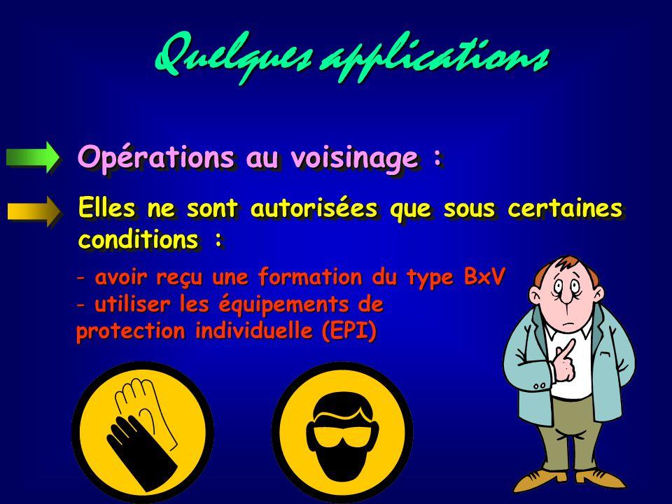 Manœuvres : Modification de l'état d'un circuit à l'aide d'appareils prévus à cet effet : - manœuvres d'exploitation (arrêt, marche…) - manœuvres d'ur