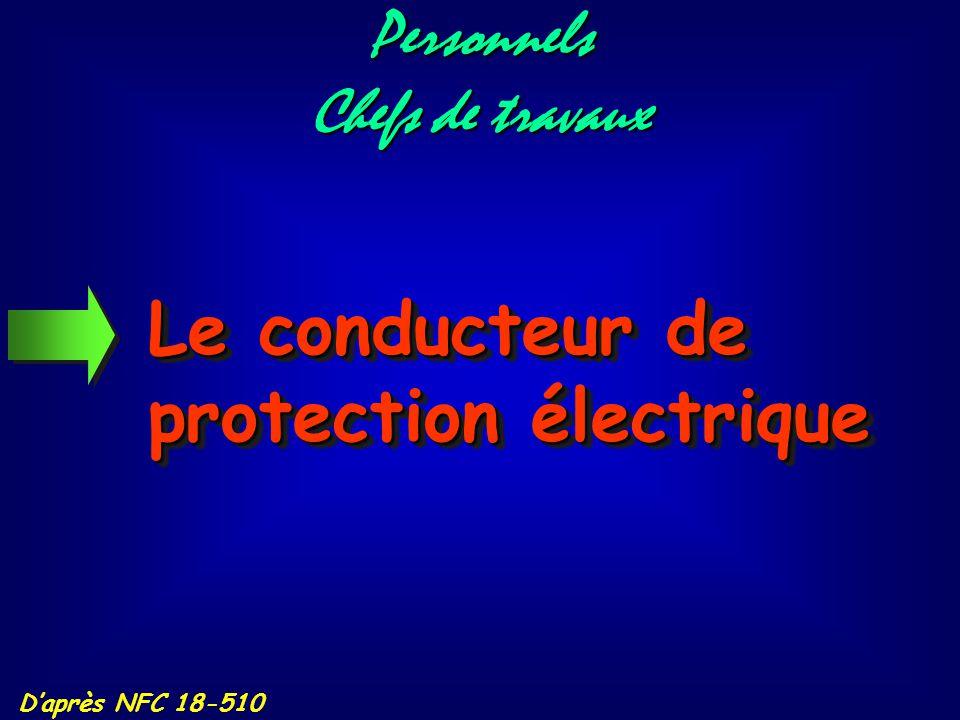 D'après NFC 15-100 La protection contre les contacts indirects se fait : - par liaison des masses à la terre, - par liaisons équipotentielles entre ma