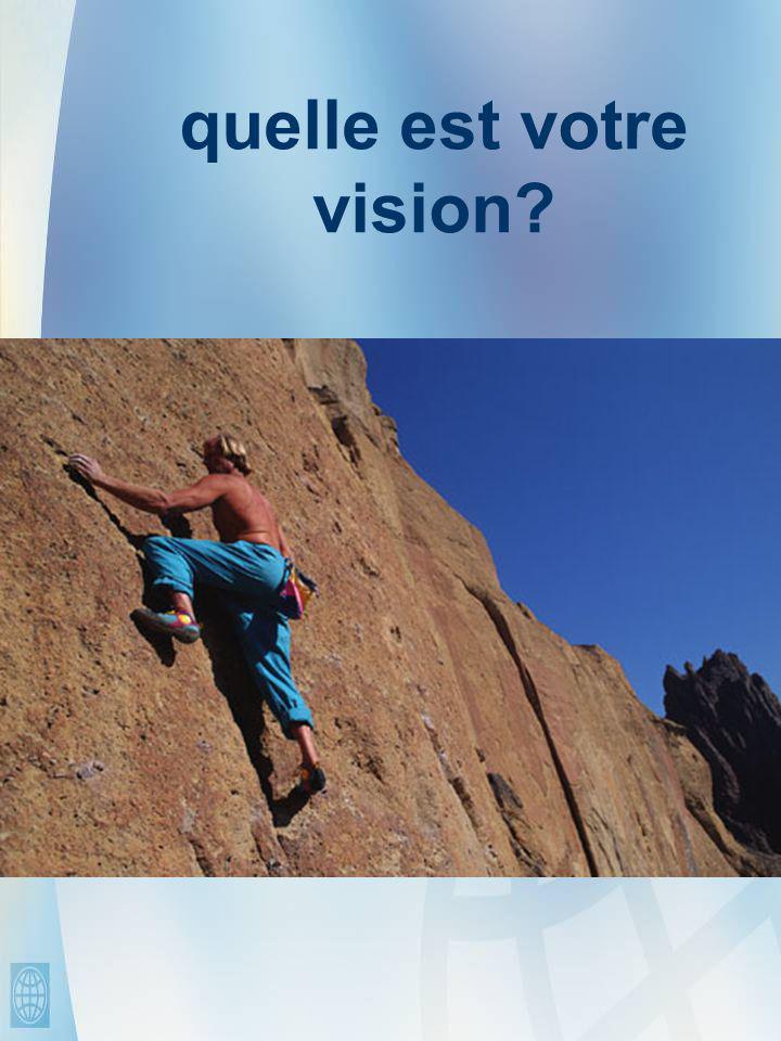 quelle est votre vision
