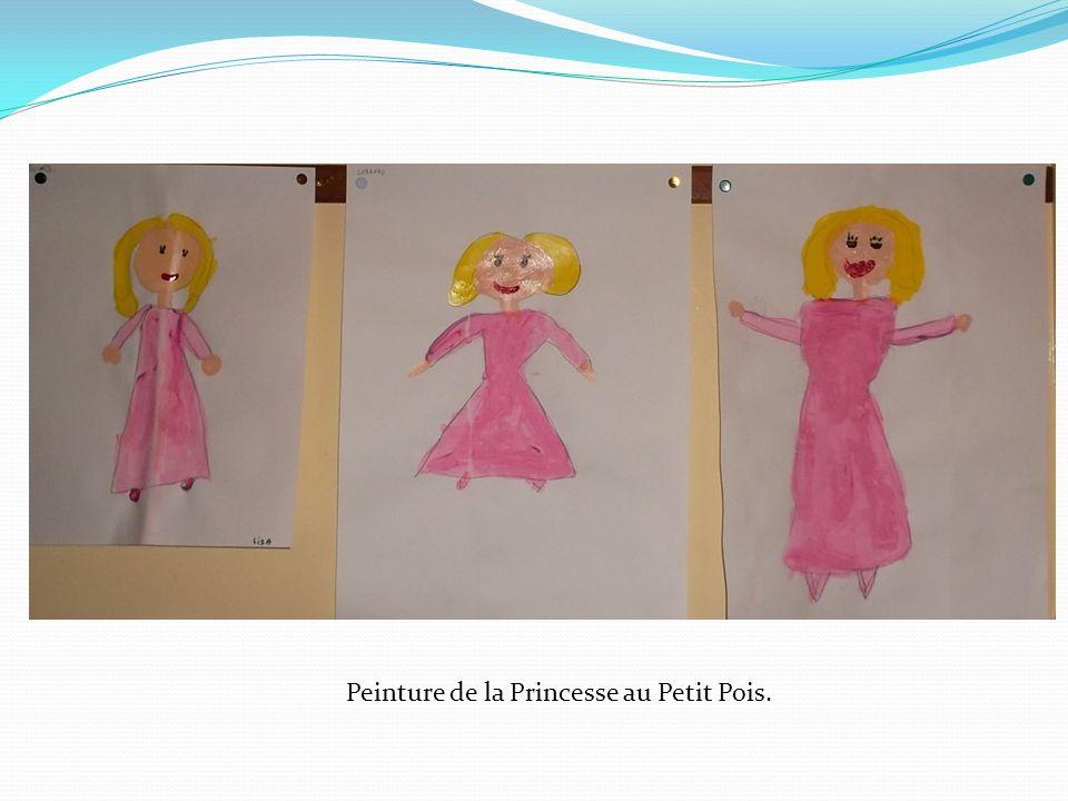 Peinture de la Princesse au Petit Pois.