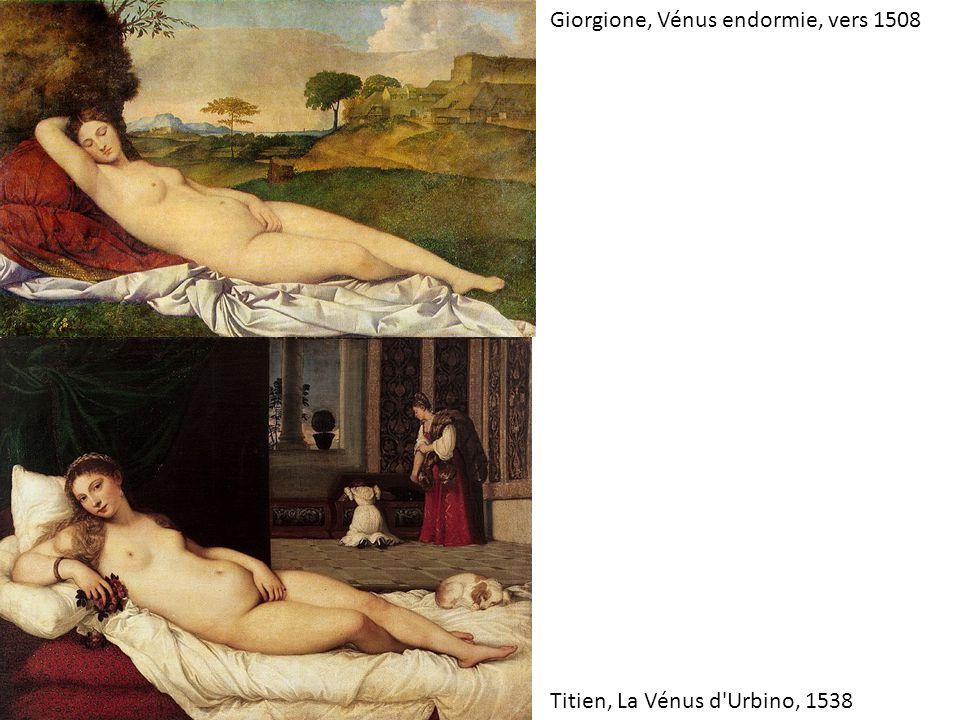 Giorgione, Vénus endormie, vers 1508