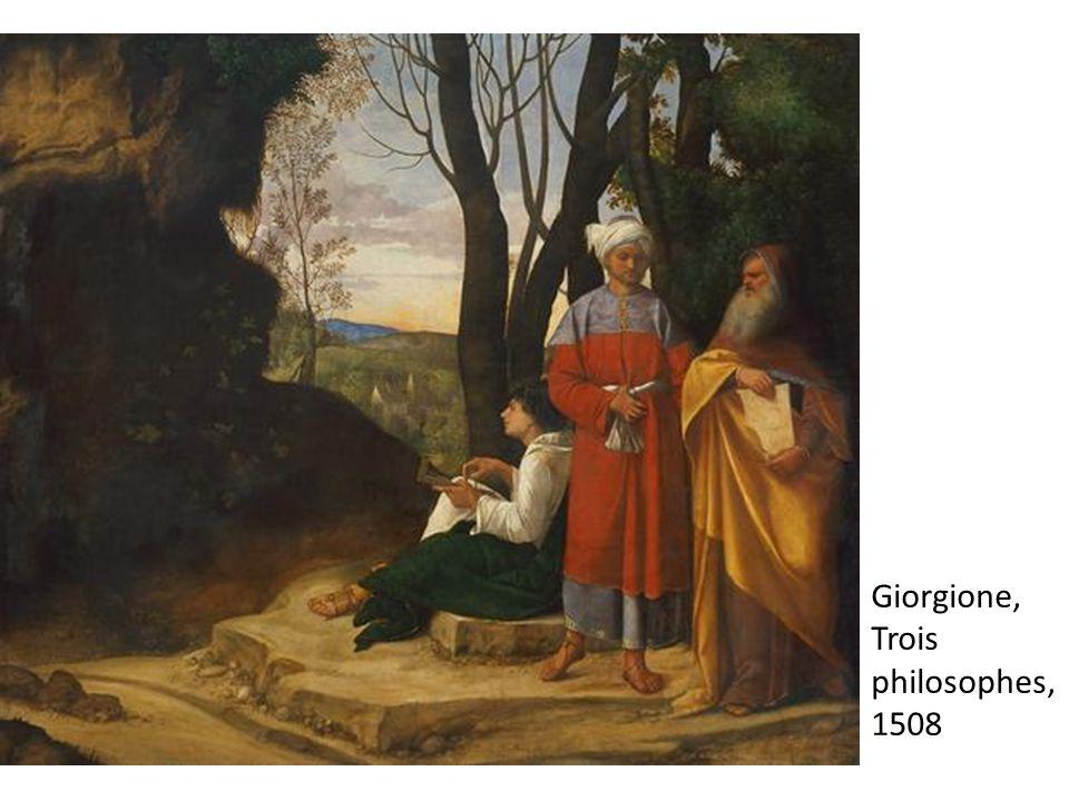 Giorgione, Trois philosophes, 1508