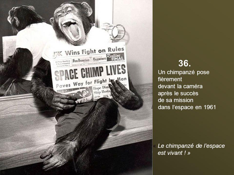 35. Des mannequins fondus et endommagés par le feu au musée de cire de Madame Tussaud à Londres en 1930