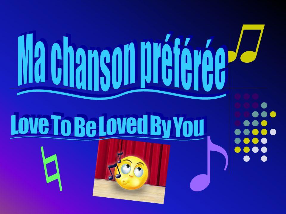 La raison pour laquelle j`aime cette chanson  J`aime cette chanson parce que c`est doux.
