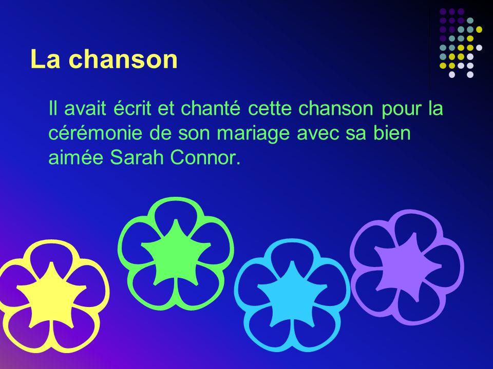 La chanson Il avait écrit et chanté cette chanson pour la cérémonie de son mariage avec sa bien aimée Sarah Connor. ❀ ❀ ❀ ❀