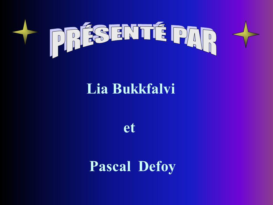 Lia Bukkfalvi Pascal Defoy et