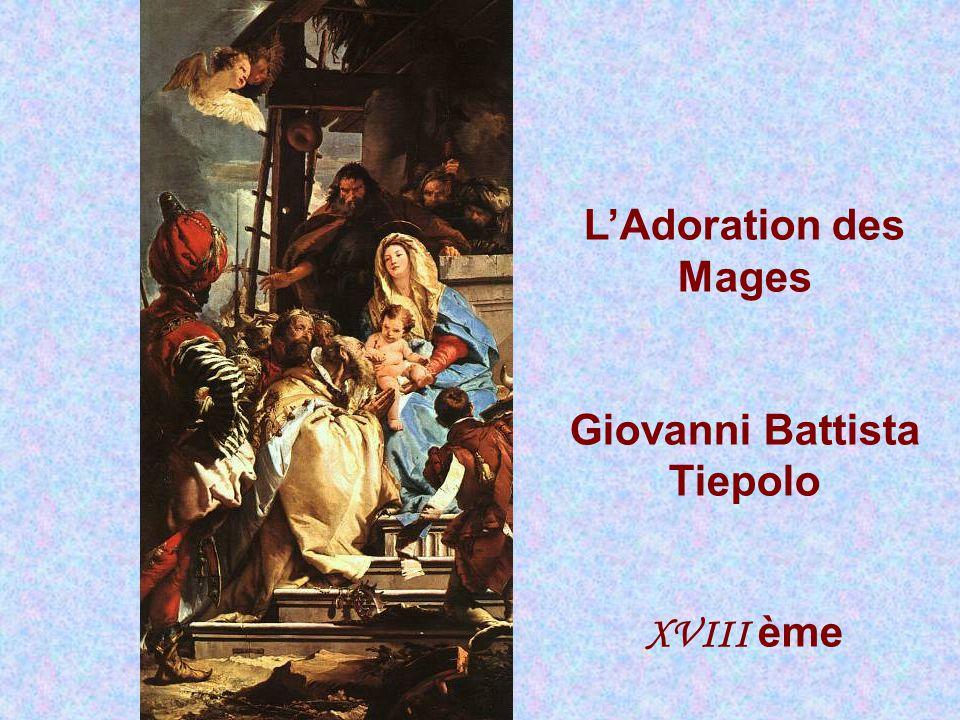 L'Adoration des bergers Giovanni Benedetto Castiglione XV II ème