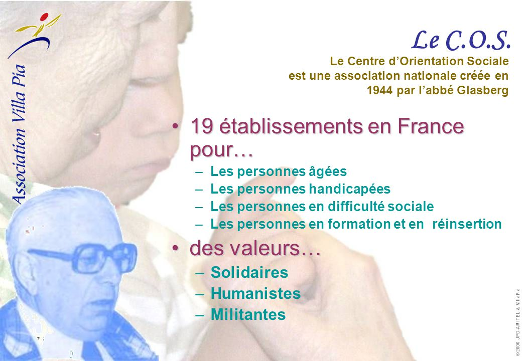  info.villapia@free.fr  http://info.villapia.free.fr info.villapia@free.fr http://info.villapia.free.fr © 2006 JPD-AMITEL & VillaPia Le C.O.S.