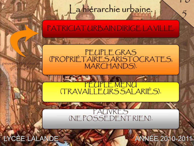 5 LYCÉE LALANDE ANNÉE 2010-2011 18 6 5 L'«Allégorie du Bon et du Mauvais gouvernement» d Ambrogio Lorenzetti.