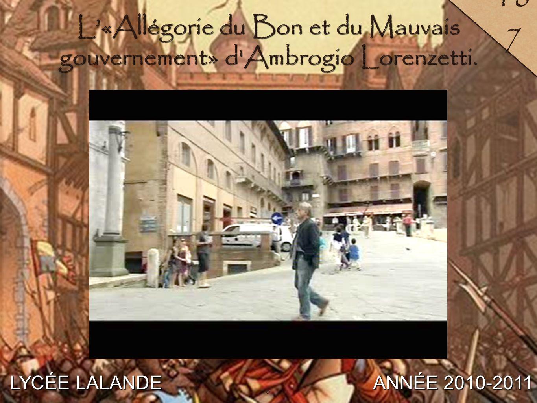 7 LYCÉE LALANDE ANNÉE 2010-2011 18 8 7 La hiérarchie urbaine.